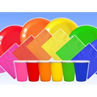 Plain Colour Partyware