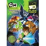 Ben 10 Colouring Book A4 50 Pages