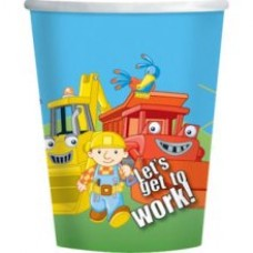 8 x Bob The Builder Party Cups
