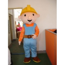 Bob The Builder Adult Mascot Costume Hire
