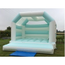 White Bouncy Castle Hire for Weddings 0054