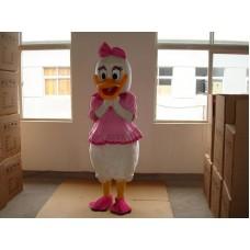 Daisy Duck Adult Mascot Costume Hire