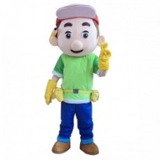 Handy Manny Adult Mascot Costume Hire