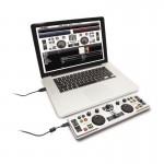 ION DJ2GO ULTRA-PORTABLE USB COMPUTER DJ CONTROLLER SYSTEM MIDI + SOFTWARE