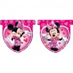 Minnie Mouse Pink Party Bunting Banner