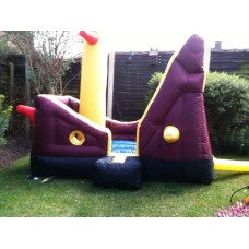 Bouncy Castle Pirate Ship Hire Age 1-4 only