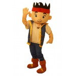 Jake The Netherland Pirate Mascot Costume Hire