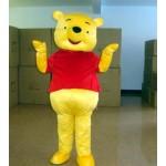 Winnie The Pooh Adult Mascot Costume Hire